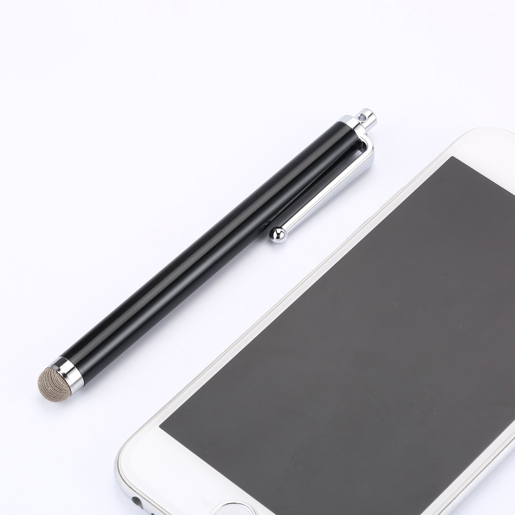 1 Piece 11cm Conductive Cloth Touch Screen Stylus Pen For Universal Tablet 6 Color Capacitor Stylus Pens