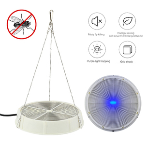 Electric Flycatcher Automatic purple Fly Trap Device With Trapping Food Fly Catcher Trapper Pest Insect Flytrap Fly Trap Bait