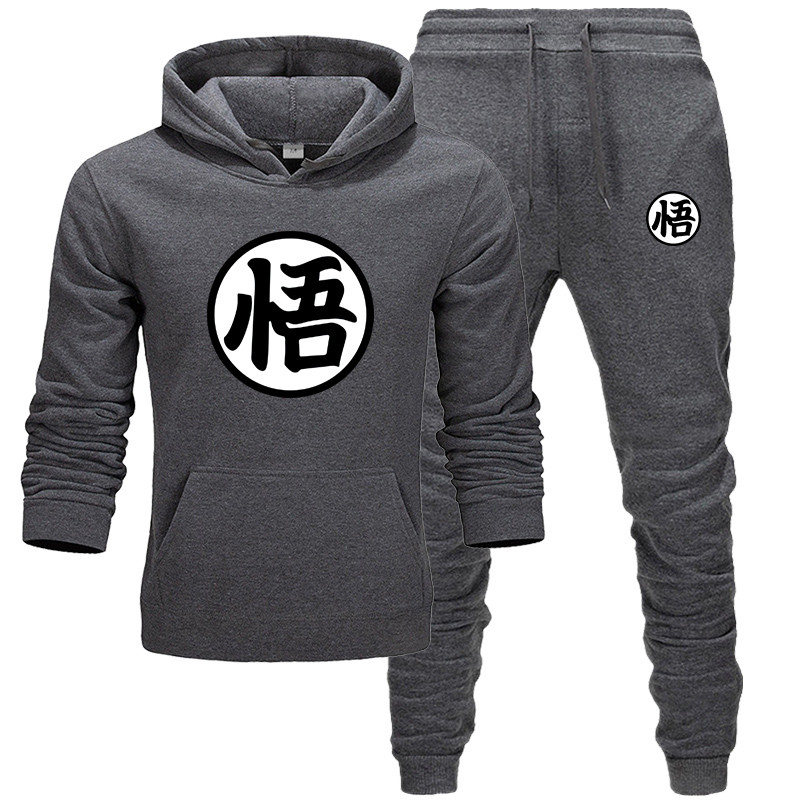 Men's Sets Fashion Sportswear Tracksuits Sets Men's Clothes Sporting Hoodies+Pants Sets Casual Outwear Sports Suits Men Hoodie
