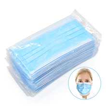 20 100 Pcs 3 שכבה חד פעמי מגן פנים פה מסכות אנטי PM2.5 שפעת בקטריאלי פנים אבק הוכחה בטיחות מסכות