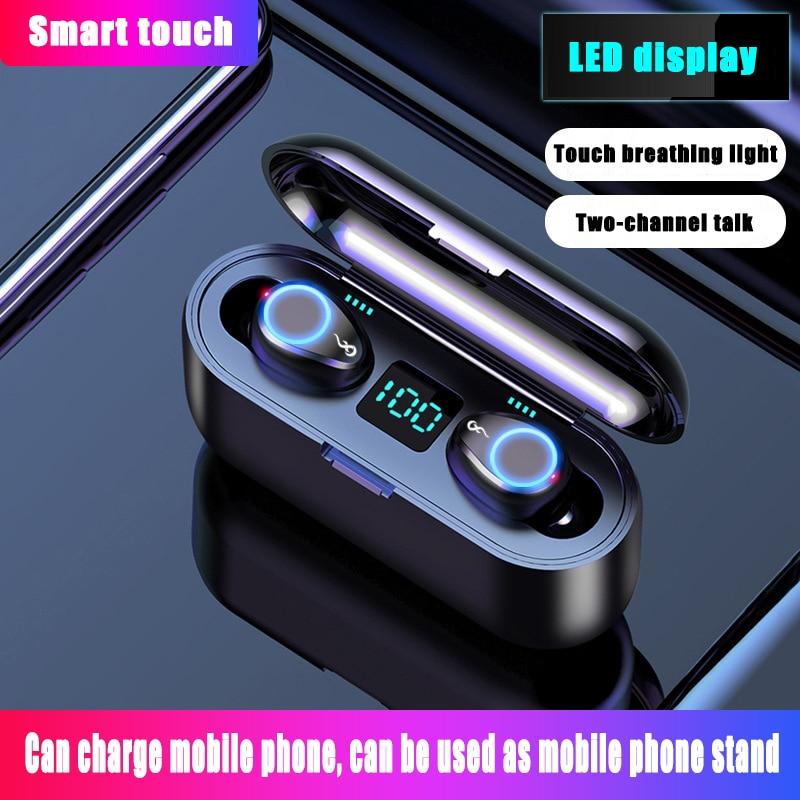 Беспроводные наушники, Bluetooth Tws гарнитура, наушники-вкладыши, наушники