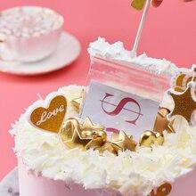 Торт ATM Топпер для торта «С Днем Рождения» Копилка Смешные потянув делая форму J99Store