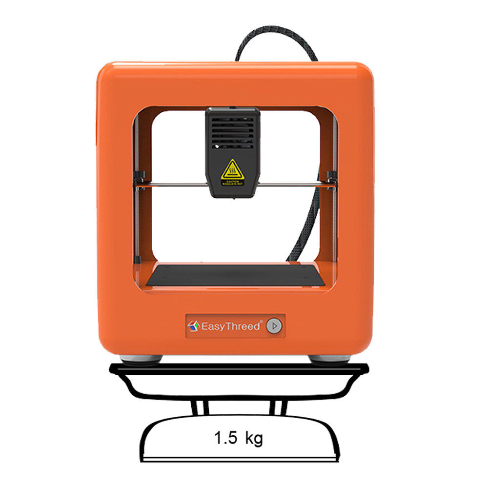 EasyThreed Nano 3D Impressora Portátil Mini Educacional