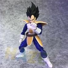 Super Saiyan Vegeta Figure Toy Anime Dragon Ball Z  Actioin Figure Toy Model Collection 16cm In Box