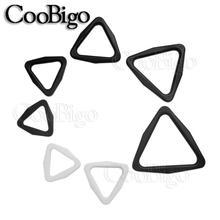 Buckle-Slider Straps-Parts Backpack-Bag Webbing-Size Adjust Plastic 10pcs for Triangle