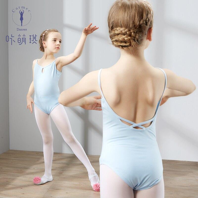 Ballet Dance Leotard Danse for Girls Kids Children High Quality Sleeveless Gymnastics