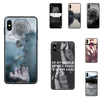 For Apple iPhone 11 12 Pro 5 5S SE 5C 6 6S 7 8 X XR XS Plus Max Soft Cases Covers Horizon British Metalcore Band Bmth Logo image