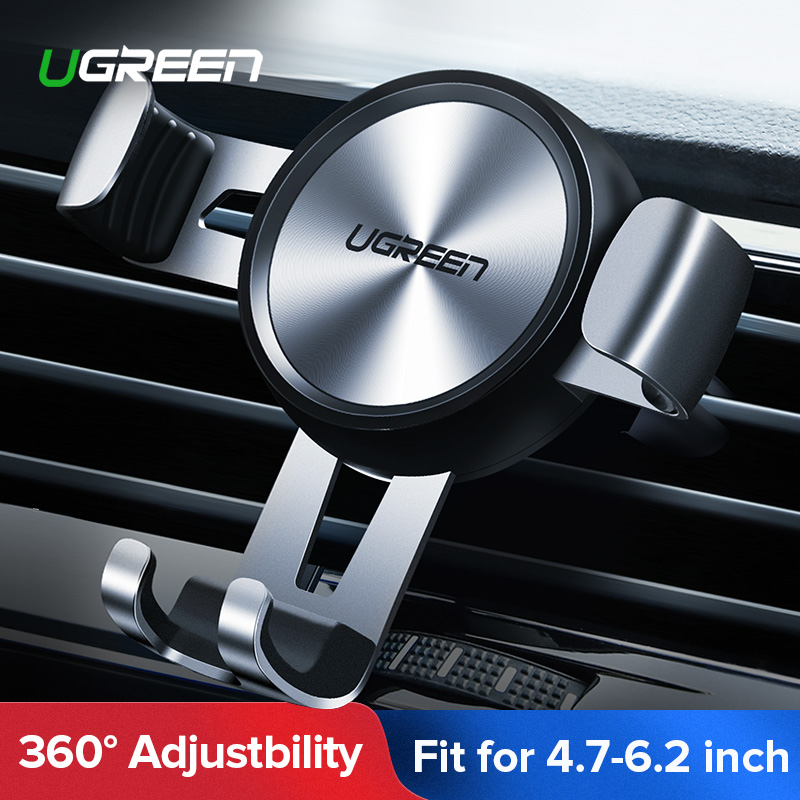Ugreen Car Phone Holder No Magnetic Gravity Stand Mobile Support Holder in Car Phone Mount Holder Stand for Xiaomi Redmi Note 7 Браслет