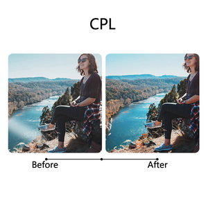 Image 2 - TELESIN 4 Pack Fiter Set ND Lens Protector Filter (ND4 8 16) + CPL Filter voor Gopro Hero 5 6 & 7 Black Hero 7 Camera Accessoreis