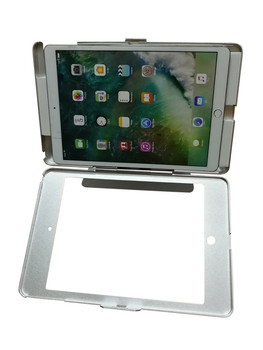 screw fix on the wall, commercial display wall swiveling iPad 10.2 inch 7th Gen tablet mount