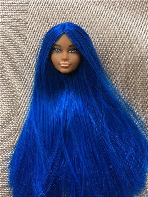 Prince Ken Doll Head Toy Kids Birthday Gift Doll Toy Head DIY Doll Toy Parts Kids Birthday Present White Brown Black Skin Prince 5