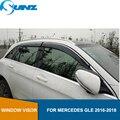 Защитный чехол для окна для MERCEDES GLE 2016 2017 2018 солнцезащитный козырек от солнца