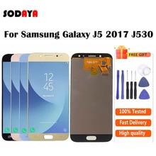 display j5 pro Brilho ajustável para samsung galaxy j5 2017 j530 j530f SM J530F display lcd tela j5 pro