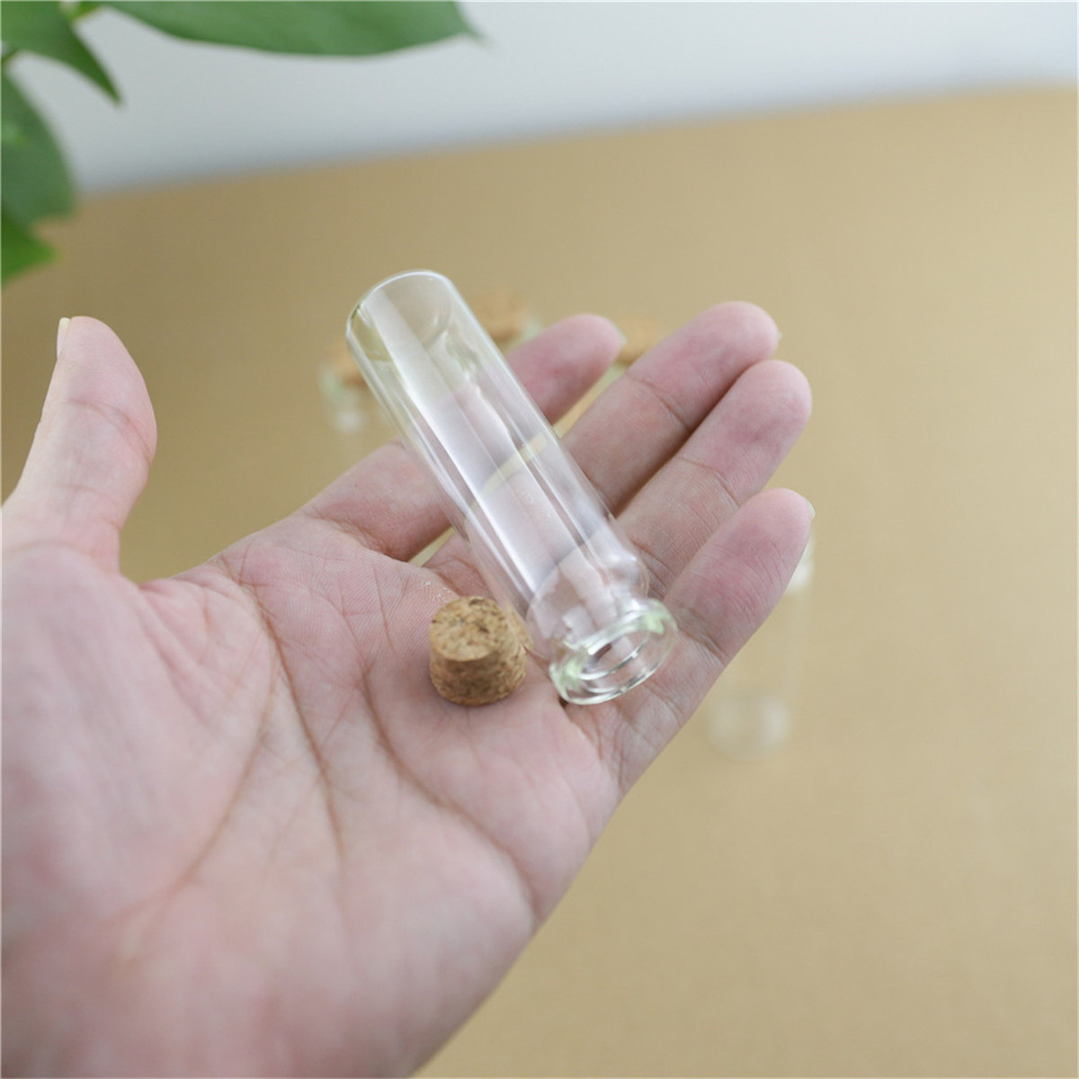 24 peças 22*80mm 20ml rolhas garrafas de vidro rolha artesanato pequeno estoque frascos recipiente de armazenamento mini frasco garrafa de vidro pequeno casamento