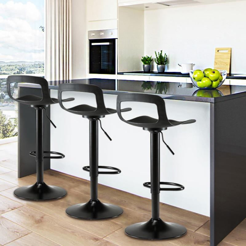 New European Columbine Bar Stool Modern Minimalist High Stool Bar Chair Home Back Bar Stool Creative Stool Lift Bar Chair