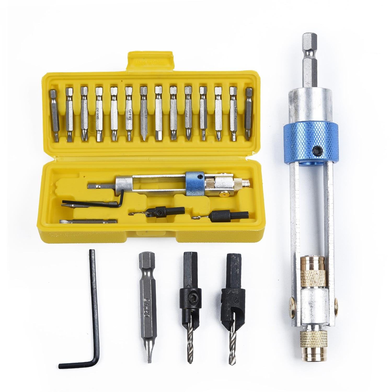 Swap Drill Bit Rotary Tool Kit HSS Screwdriver Flip Drive Half Time Drill Driver Swivel Head Quick-Change Driving Repair Tools
