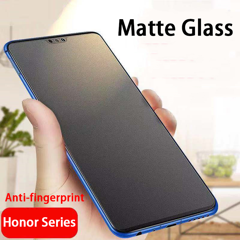 Matte Frosted Protective <font><b>Tempered</b></font> <font><b>Glass</b></font> for Huawei <font><b>Honor</b></font> 8X 8S 8C 8A <font><b>pro</b></font> Screen Protector <font><b>honor</b></font> hono <font><b>8</b></font> x a s c x8 honor8a Film image