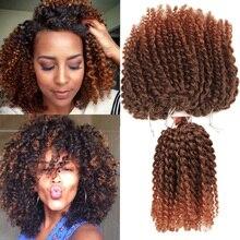 Marley bob hair Short Kinky twist Hair 8inch 3pieces/bag 90g