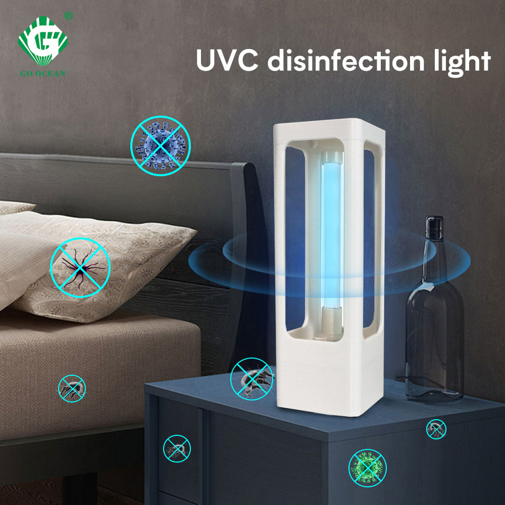 15W Ultraviolet Sterilizer Light Disinfection 220V UVC Lamp Bactericidal Household Home Timer Kill Mite Germicidal Lights