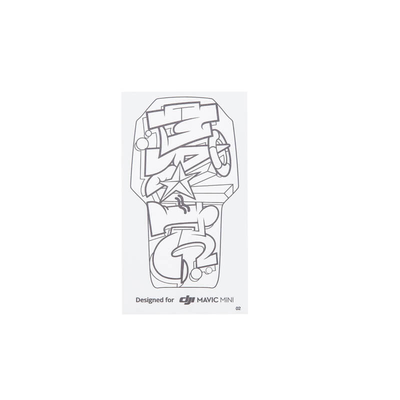 In Stock DJI Mavic Mini DIY Creative Kit For DJI Mavic Mini Sticker Set Hand Draw Skin for Mavic Mini Drone Accessories