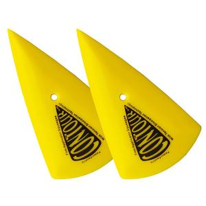 Image 5 - CNGZSY 5 יחידות קונטור פינת מגרד חד משולש רכב מדבקה ויניל מוליך צהוב ללכת פינת מגב חלון גוון כלים 5A13