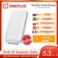 Original OnePlus Warp Charge 50 무선 충전기 무선 Qi 충전 EPP 15W/5W 50 W Max Oneplus 9 Pro, 30W OnePlus 8P 용