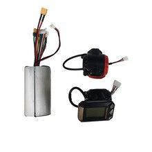 Профессиональный алюминиевый бесщеточный контроллер двигателя 24 в 36 В, ЖК-дисплей, контроллер дроссельной заслонки для электрического ску...