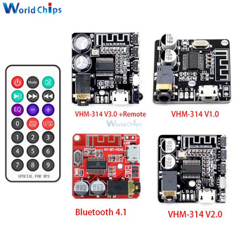 Bluetooth 5.0 4.1 VHM-314 Bluetooth Audio Receiver Board mp3 Lossless Decoder Board Wireless Stereo Music Module for Car Speaker image