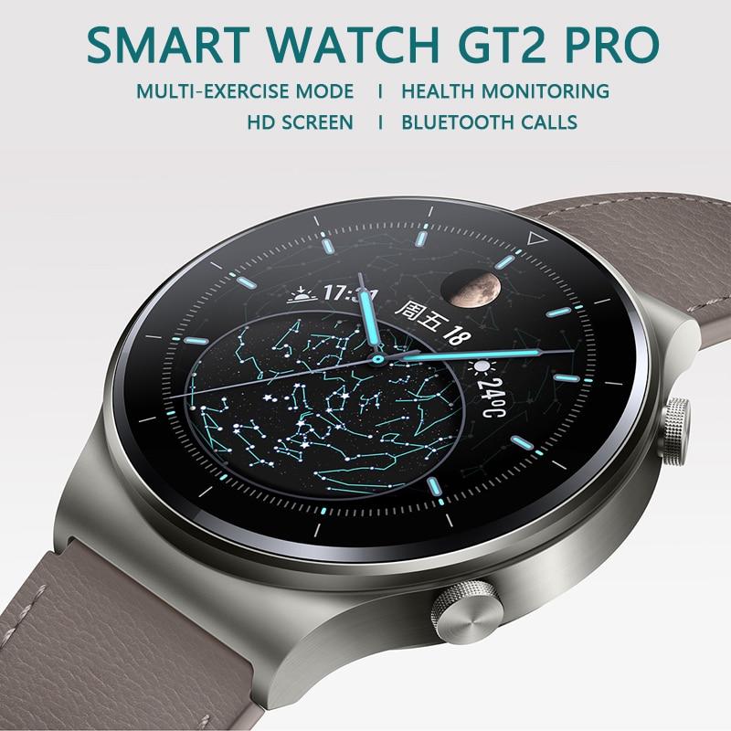 Smart Watch GT2 Pro For Huawei Xiaomi Samsung Phone Men 2021 Fitness...
