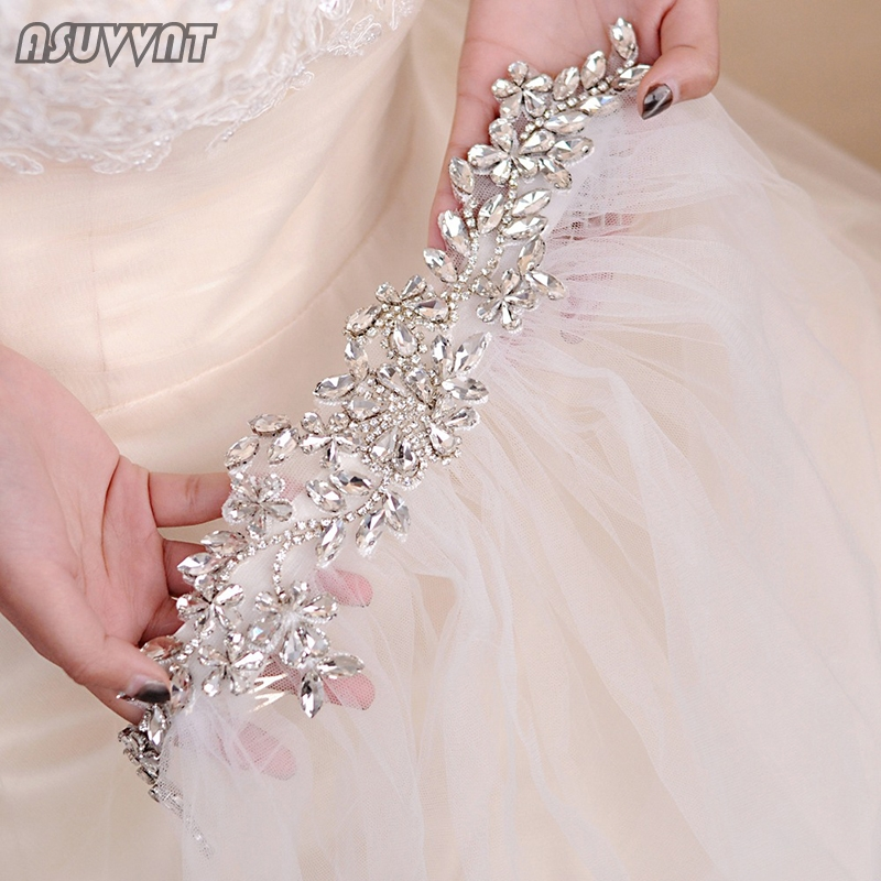 Crystal Wedding Veil Bridal Tulle Veils With Comb And Lace Edge Rhinestone Bridal Accessories For Women Wedding Party Dress Up