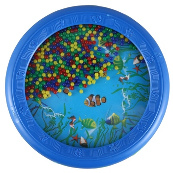 Ocean Wave Bead Drum Gentle Sea Sound Musical Educational Toy Tool for Baby Kid Child шапка noryalli 47404 sea wave