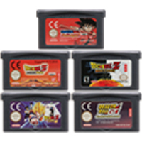 Cartão do console do cartucho do jogo de vídeo de 32 bits para nintendo gba drago ball series edição em inglês da língua