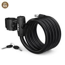 뜨거운 HIMO L150 휴대용 접는 케이블 잠금 Youpin 스마트 홈 키트에서 전기 자전거 Lockstitch