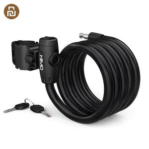 Image 1 - HOT HIMO L150 Portable Folding Cable Lock Electric Bicycle Lockstitch from Youpin smart home kit