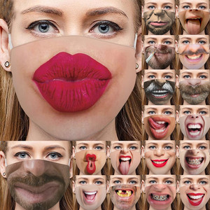 Adult Funny Mouth cover Face Maske Mouth-macks Facemaska Activated Carbon Face Maskswashable Reusable Mascarilla Fackmacks Maske