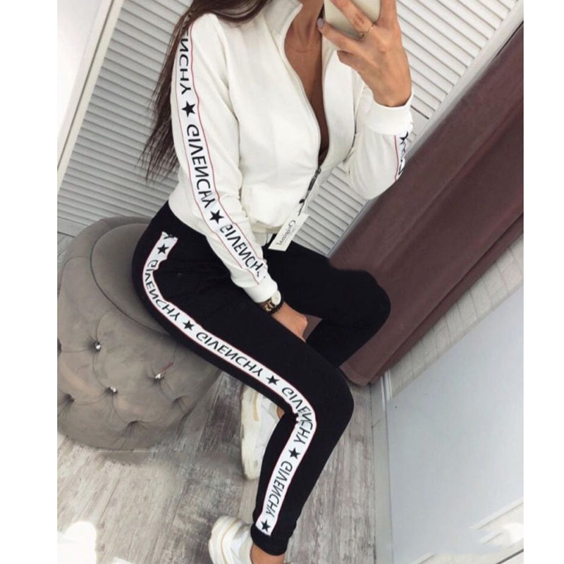 Autumn Winter 2 Piece Set Women Hoodie Pants Printed Tracksuit Pullover Sweatshirt Trousers With Pockets Tracksuit Suits|Women's Sets| - AliExpress