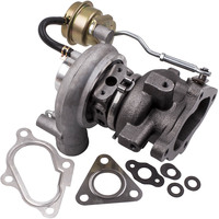 Turbo charger For Mitsubishi Pajero Shogun 2.8L 4M40T 4 Bolt Downpipe Flange 49377 03033 TD04 12T Supercharger water cool