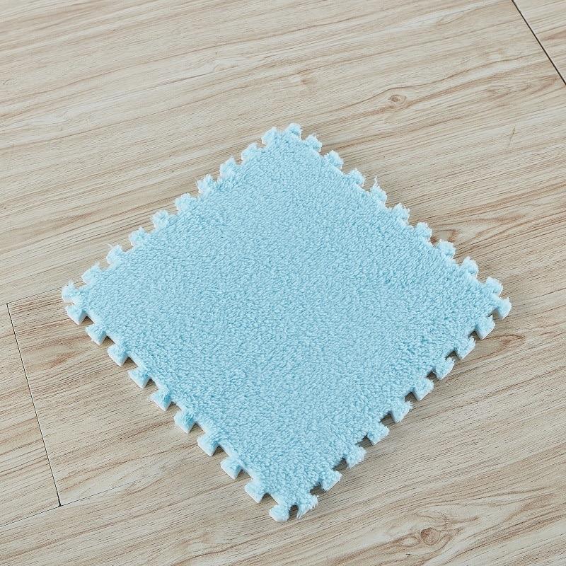 10/20PCS 30*30cm Carpet Living Room Bedroom Children Kids Soft Magic Patchwork Jigsaw Splice Heads Climbing Baby Crawing Mat 9