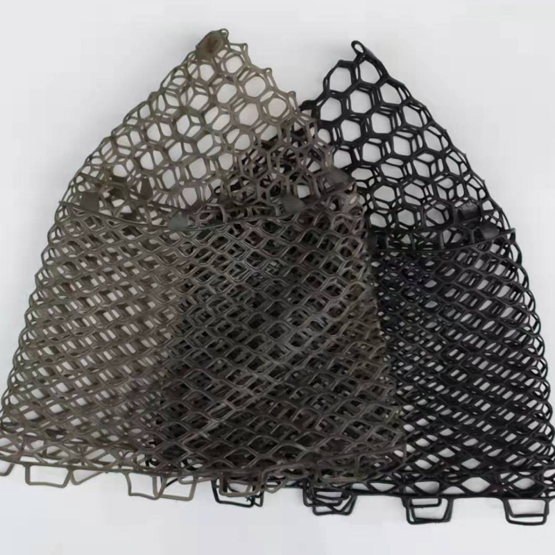 Rubber Hand Net Head Depth:32/40/47/55cm Fishing accessories