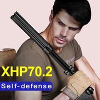 Mace Baseball Led antorcha Cree Xhp70.2 Led Linterna táctica 18650 Bastón telescópico recargable Linterna de policía de autodefensa
