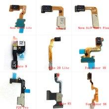 10pcs Proximity Afstand Ambient Flash Light Sensor Flex Voor Huawei Honor 9i 10 V20 Mate 9 RS P20 Pro p20 lite Nova 3 3e 3i 4