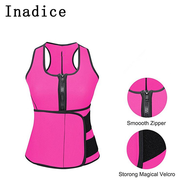 Inadice Corset Belt Women Cummerbunds Neoprene Top Clothing Wide Belt Solid Elastic Belt 2019 Fashion Slimming Belt Wholesale