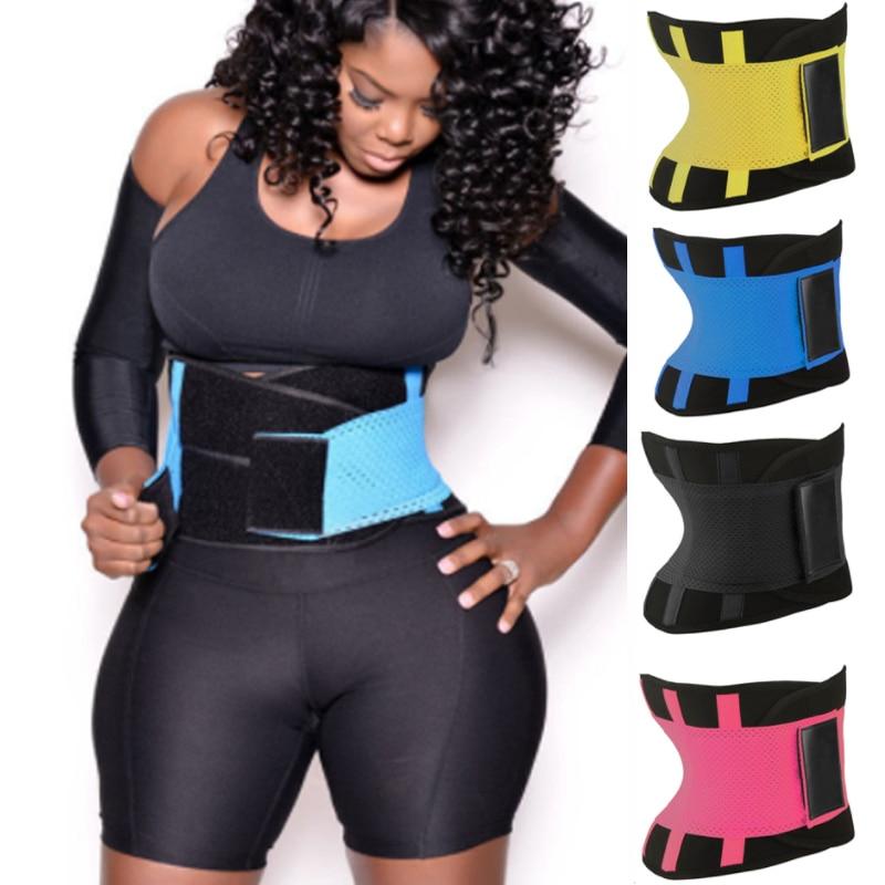 Body Shapers Unisex Waist Cincher Trimmer Tummy Slimming Belt Waist Trainer Shaper Plus Size Women Postpartum Corset Shapewear
