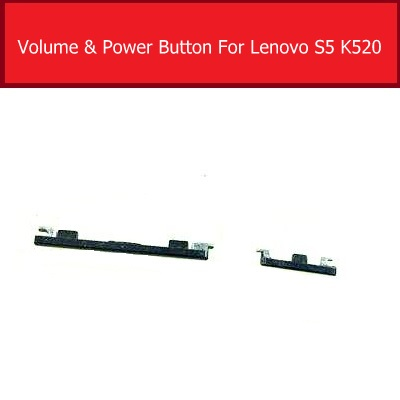 Power Volume Side Button Flex Cable For Lenovo S5 K520 Power & Volum Up/Down  Control Switch Button Key Replacement Repair Parts