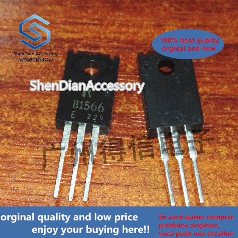 10pcs 100% Orginal New 2SB1566 B1566TO-220F  Silicon PNP Power Transistors Real Photo