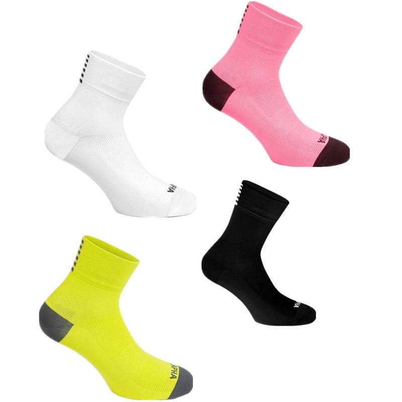 New Summer Short Sports Socks Professional Road Rapha Cycling Socks Men Women Bike Socks