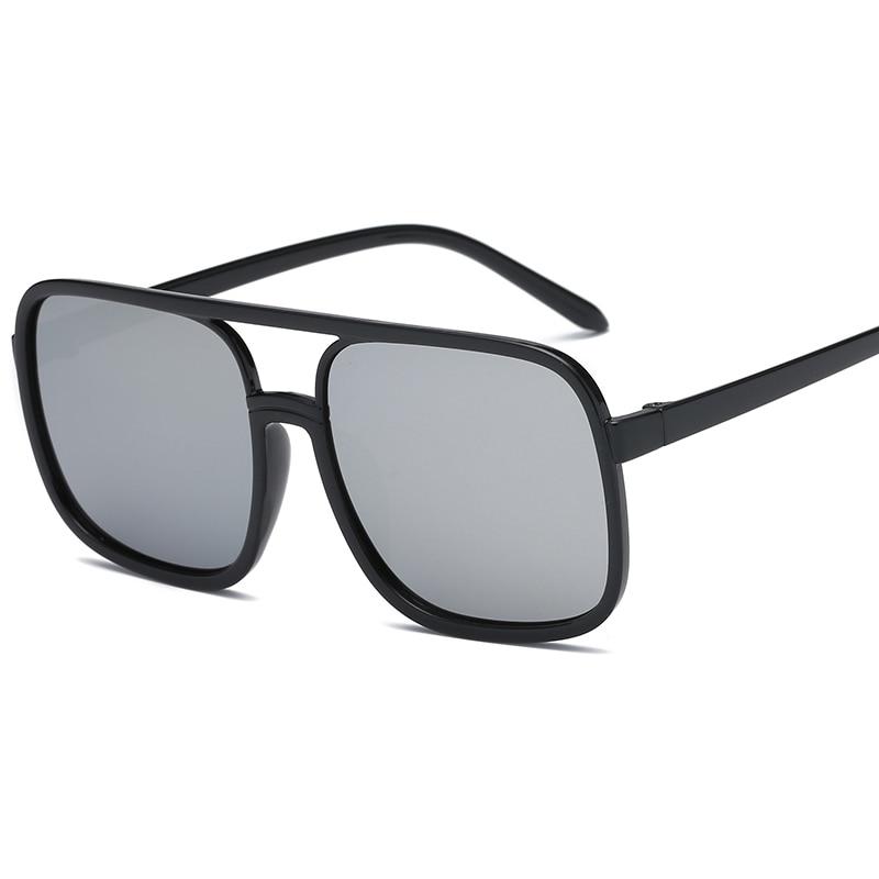 Big Box  Fashion Sunglasses Men And Women Sunglases Retro Square Glasses Sunglass