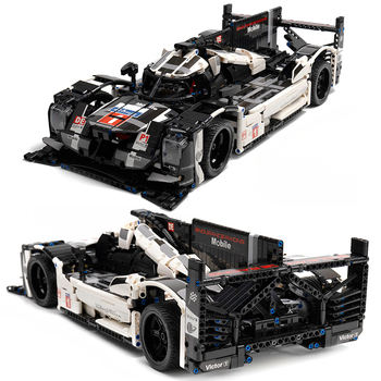 1586pcs Technical City Speed Racer Super Racing Sports Vehicle Endurance Drift Car Building Blocks Bricks Children Toys Gifts 1