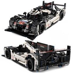 1586pcs Technical City Speed Racer Super Racing Sports Vehicle Endurance Drift Car Building Blocks Bricks Children Toys Gifts