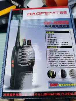 2pcs Baofeng Bf-888s Walkie Talkie Radio Station UHF 400-470MHz 16CH CB Radio Talki Walki Bf-888s Portable Transceiver